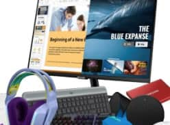 Win 1 of 5 Ultimate Study and Play Prize Packs with Logitech, Logitech G AND Samsung