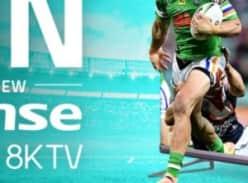 "Win a Hisense 75"" ULED 8K Series TV"