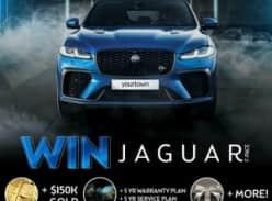 Win Jaguar F-Pace SVR + Gold