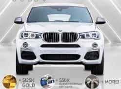 Win BMW X4 M40i + $125K Gold + $72K Extras!