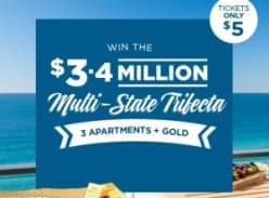 Win the $3.4 million Multi-State Trifecta!