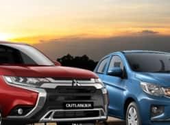 Win a Mitsubishi ZL Outlander & a Mitsubishi LB Mirage