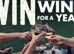 Win wine for a year