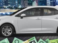 Win $20,000 cash or a Toyota Corolla