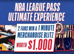 Win $1,000 in NBA Merchandise