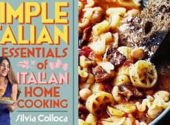 Win 1 of 10 copies of Simple Italian by Silvia Colloca