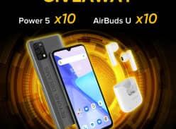 Win 1 of 10 UMIDIGI Power 5 Smartphones & AirBuds U