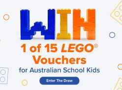 Win 1 of 15 LEGO Vouchers for Australian School Kids