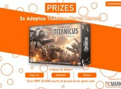 Win 1 of 2 Adeptus Titanicus Set