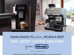 Win 1 of 2 DE'LONGHI COFFEE MACHINE!