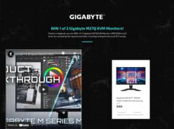 Win 1 of 2 Gigabyte M27Q 27