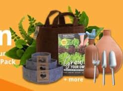 Win 1 of 2 Grow Your Own Garden Packs