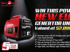Win 1 of 2 Honda EU22i Portable Generators
