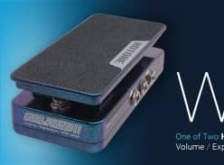 Win 1 of 2 Hotone Soul Press II Volume / Expression / Wah Pedal