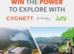 Win 1 of 2 Prizes of a $500 Cygnett Voucher & Jucy Van Hire