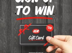 Win 1 of 20 $250 Gift Cards