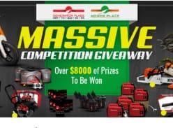 Win 1 of 20 Honda, Stihl, Generator Place or Toro Prizes