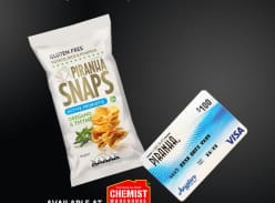 Win 1 of 3 Gift Cards or 1 of 15 Cartons of Snacks
