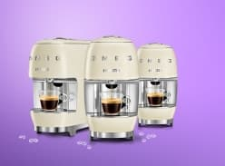 Win 1 of 3 Lavazza A Modo Mio SMEG Capsule Coffee Machines
