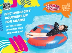 WIn 1 of 3 Wahu Gift Vouchers