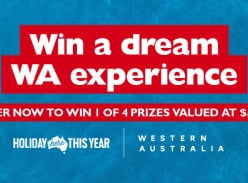 Win 1 of 4 $5,000 Flight Centre Gift Cards Towards a Holiday in WA