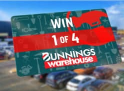 Win 1 of 4 $500 Bunnings Vouchers