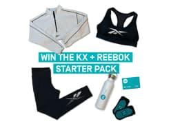 Win 1 of 4 KX Pilates & Reebok Prize Packs