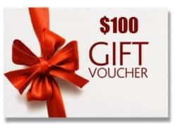 Win 1 of 5 $100 Vouchers