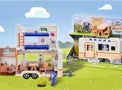 Win 1 of 5 Bluey Caravan Playsets