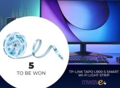 Win 1 of 5 TP-Link Tapo L900-5 Smart Wi-Fi Light Strips