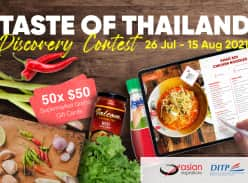 Win 1 of 50 $50 Grocery Gift Cards