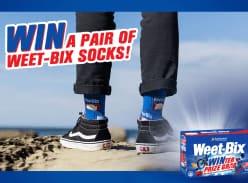 Win 1 of 50 Pairs of Weet-Bix Branded Socks
