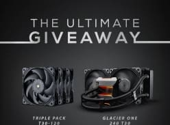 Win 1 of 6 Phanteks Prizes (Glacier One T30 240mm AIO or 3x Pack T-30 120mm Fans)