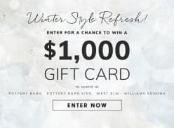 Win a $1000 Gift Card