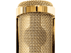 Win a 24-Karat Gold Plated Audio-Technica AT2020 Microphone