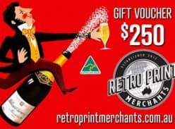 Win a $250 Retro Print Merchants Gift Voucher