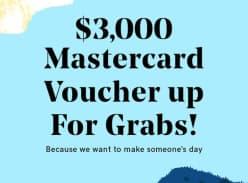 Win a $3000 MasterCard Voucher