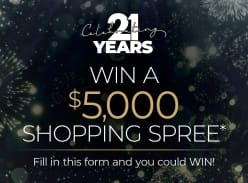 Win a $5000 Shopping Spree