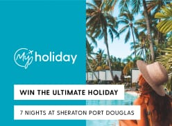 Win a 7N Stay at Sheraton Grand Mirage Port Douglas