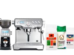 Win a Breville Dynamic Duo Espresso Machine & Coffee Pack