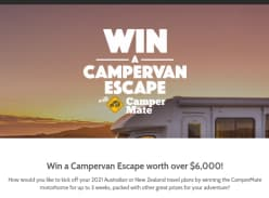 Win a Campervan Escape worth over $6,000!
