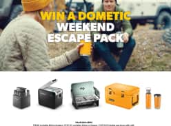 Win a Dometic Weekend Escape Pack