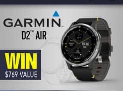 Win A Garmin D2 Air Aviator Smartwatch
