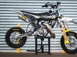 Win a Jed Beaton Replica Husqvarna TC50 Motorbike & Gear
