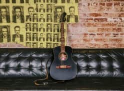 Win a Joe Strummer Campfire Fender Guitar