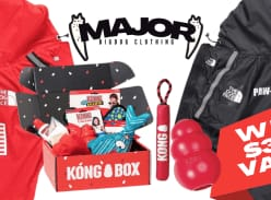 Win a Kong Gift Basket + MAJOR Dog Raincoat