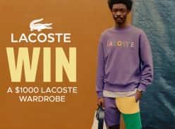Win a Lacoste Wardrobe