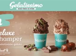 Win a Lindt Chocolate Hamper & 5 Tubs of Gelatissimo Gelato