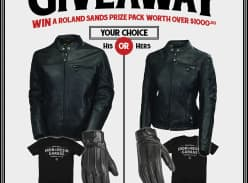 Win a Mens or Womens Leather Jacket Prize Pack