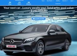 Win a Mercedes-Benz C300 Sedan